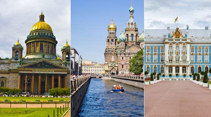 A 9 legszebb látnivaló Szentpéterváron