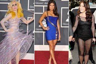A Grammy legjobban és legrosszabban öltözött szárjai