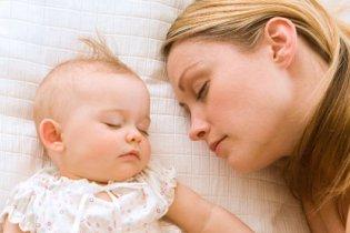 A babával való alvás