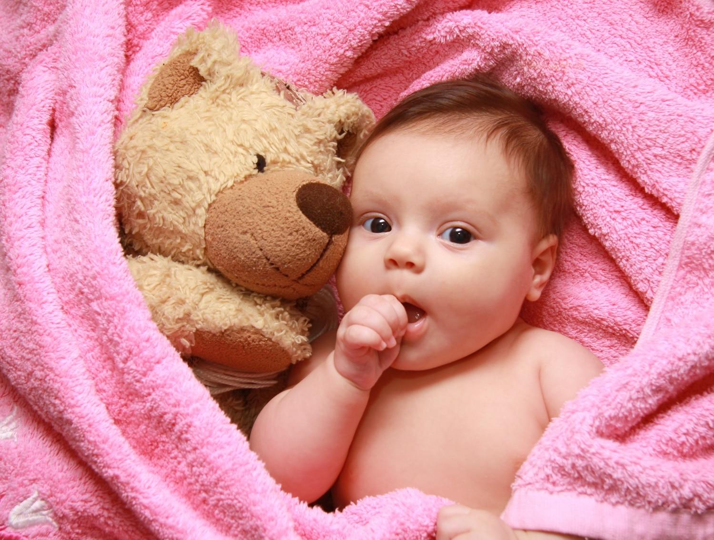 A baba második hónapja