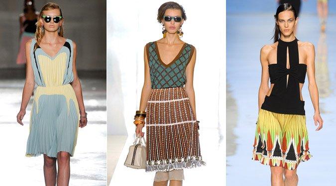 A divatos pliszé viselésének alapszabályai