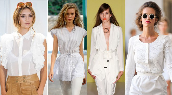 A fehér szín viselésének alapszabályai