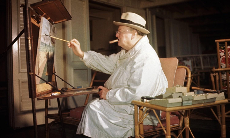 A festés öröme: Churchill, Hitler és a többiek