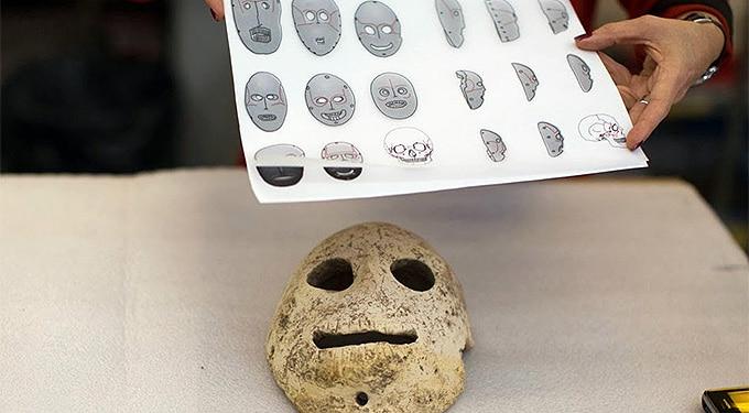 A halál arcai: ősi maszkokat gyűjtött össze a múzeum