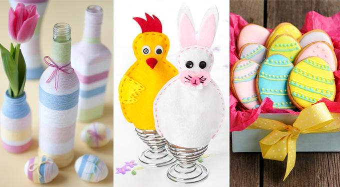 A legcukibb húsvéti kézműves díszek
