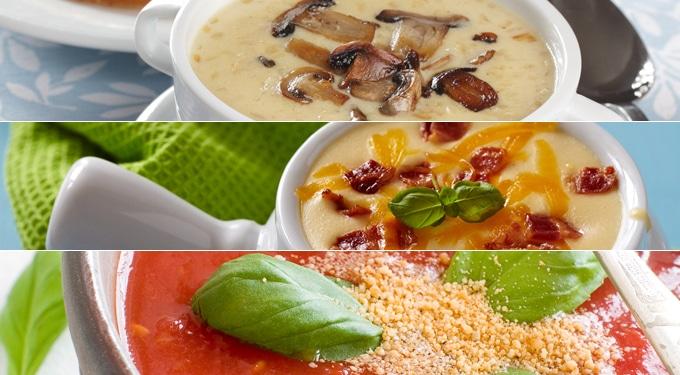 A legfinomabb levesek hűvös napokra