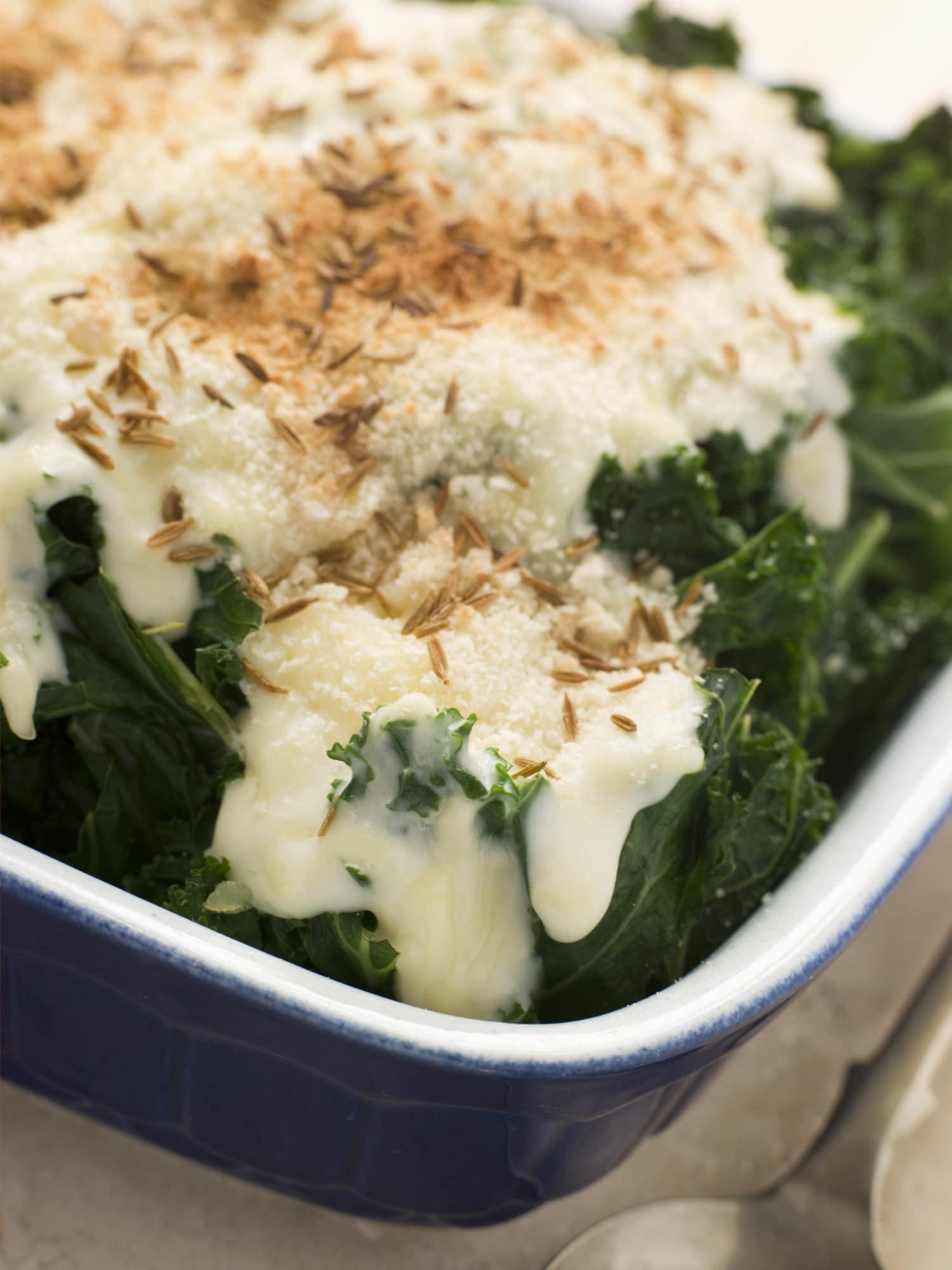A legfinomabb zöldségétel: rántott kelkáposzta sajtmártással