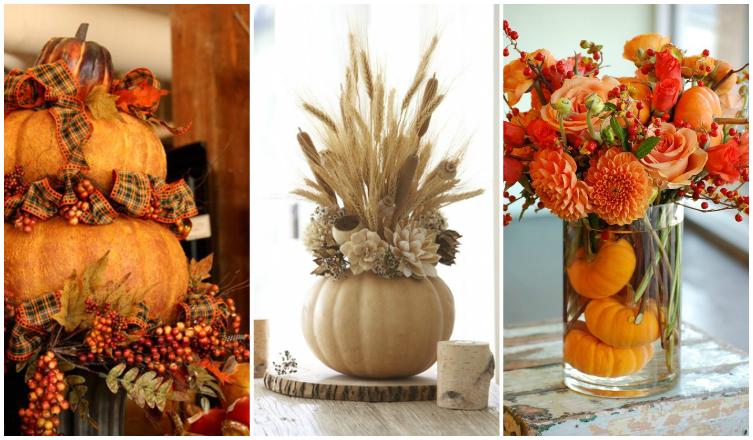 A legszebb őszi dekorációk dísztökökből