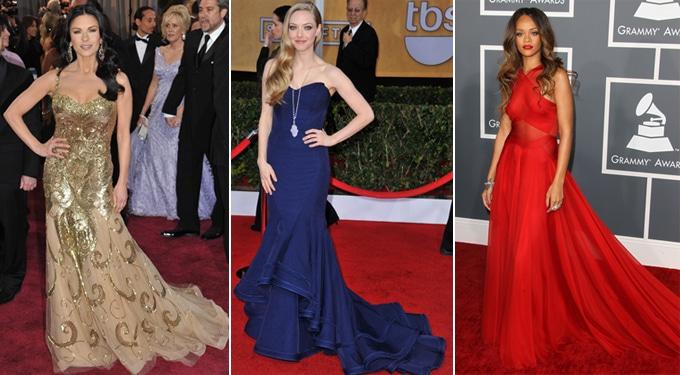 A legszebb 10 estélyi ruha a vörös szőnyegen 2013-ban