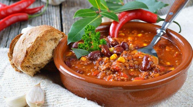 A mexikói chilli con carne receptje