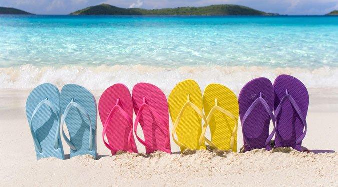 A nyár kedvence, a flip-flop papucs