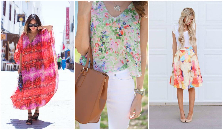 A nyár legcsajosabb trendje: így viseld a watercolor outfitet!