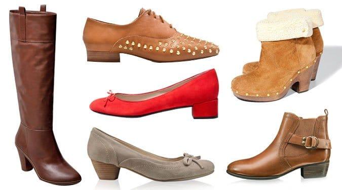 A törpesarkú cipők újra trendben