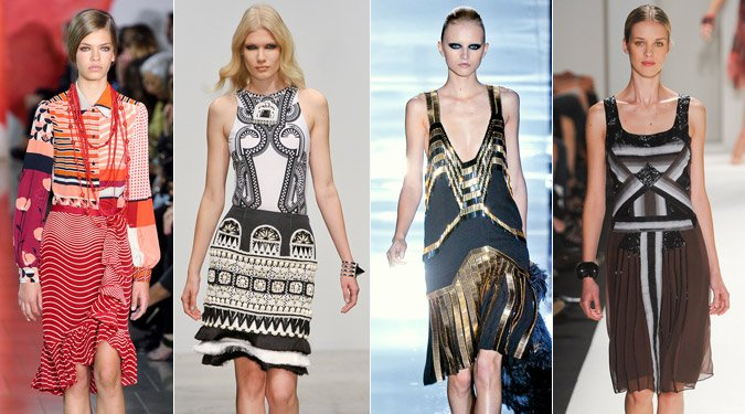 Art deco divat tavasz/nyár 2012