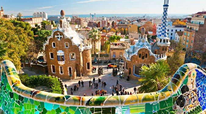 Az úti cél: Barcelona
