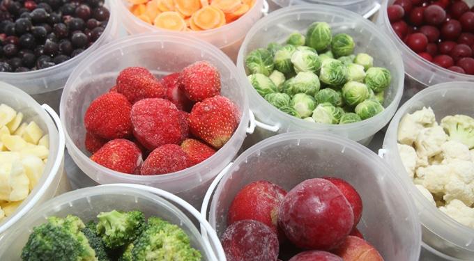 Az 5 legegészségesebb fagyasztott zöldség és gyümölcs