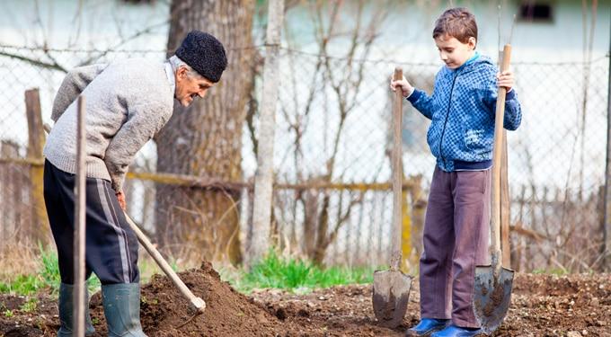Az egészséges vidéki neveltetés előnyei