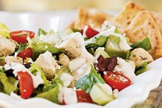Az igazi görög csirkesaláta recept