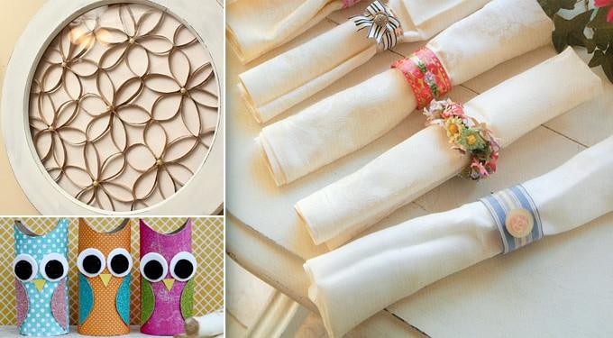 Bámulatosan kreatív dekor ötletek toalettpapír gurigából