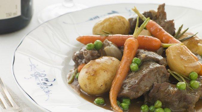 Bárányragu zsenge zöldségekkel (francia navarin recept)