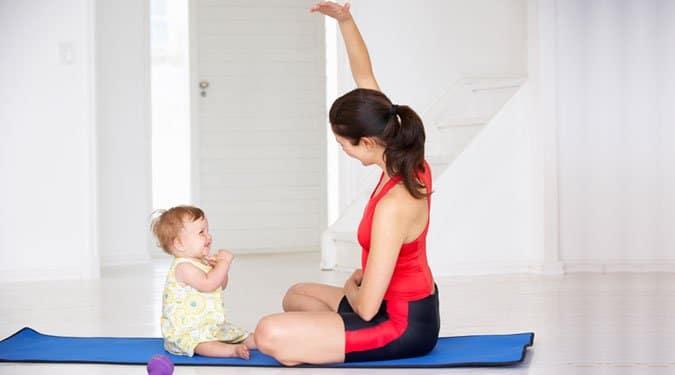 Baba-mama jóga gyakorlatok