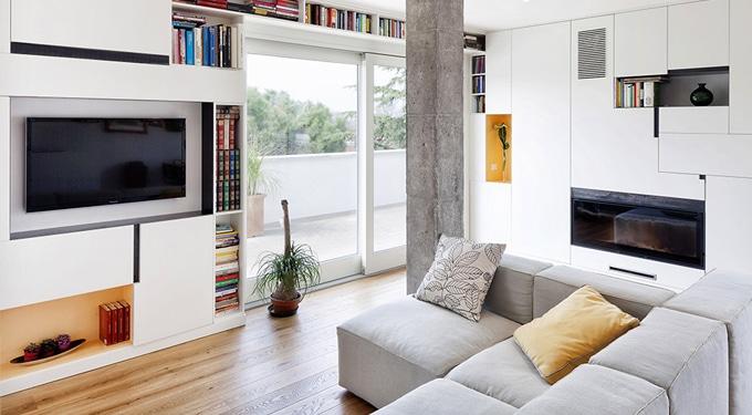 Barangolás egy inspiráló olasz lakásban