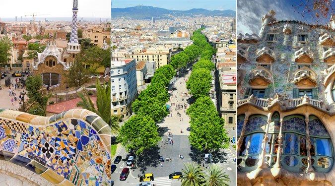 Barcelona 15 legnevezetesebb helye