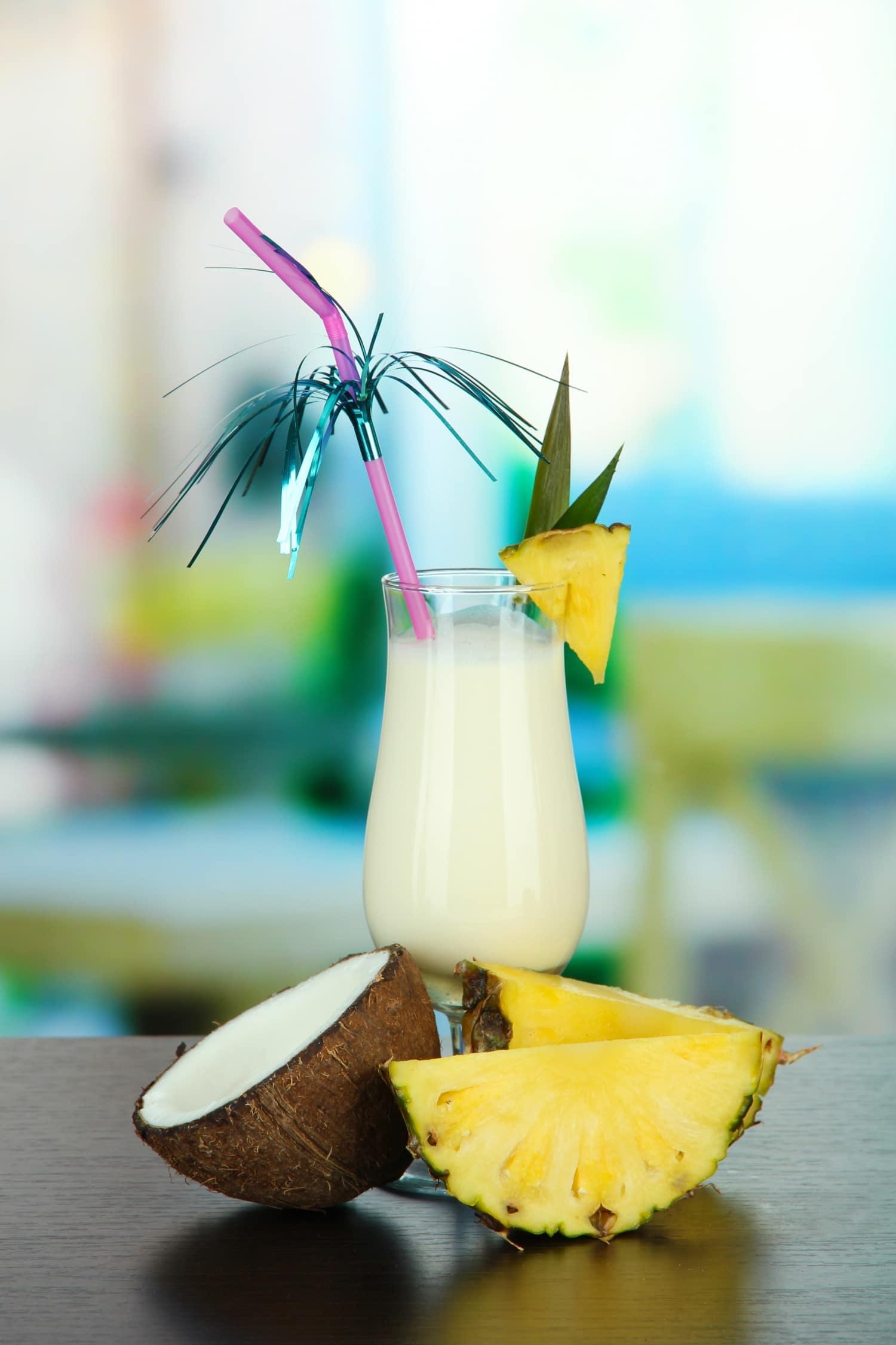 Brazil turmix: alkoholmentes Piña Colada