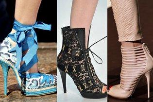 Cipő divat 2011 tavasz/nyár