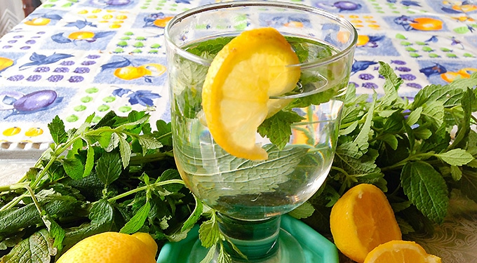 Citromfüves limonádé, a tökéletes frissítő