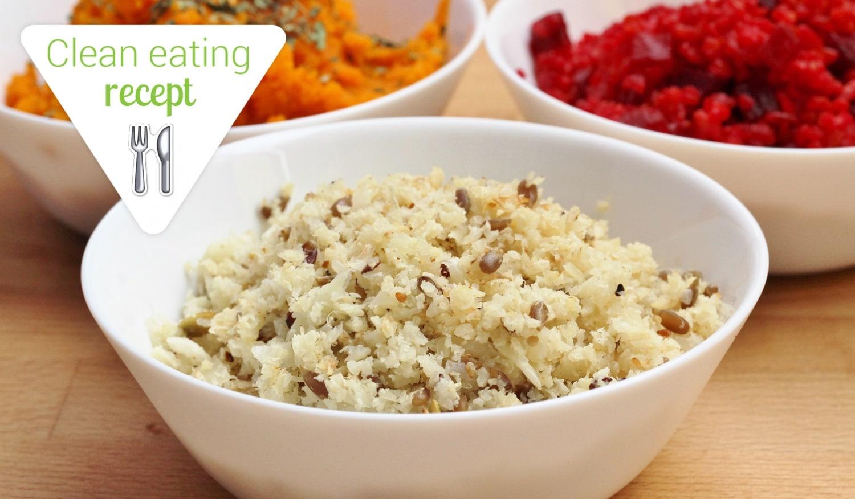 Clean Eating recept: A köretek királynője: a karfiolrizs