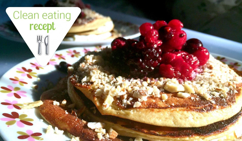 Clean Eating recept: Mennyei mandulás-túrós banánpalacsinta, liszt nélkül