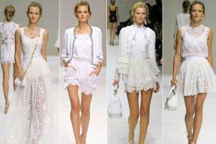 Csipke divat 2011 tavasz/nyár