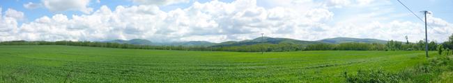 Dunakanyar a Visegrádi hegységgel a bal partról