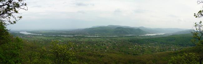 Nyugat-Börzsöny Ipolytölgyes környékéről nézve