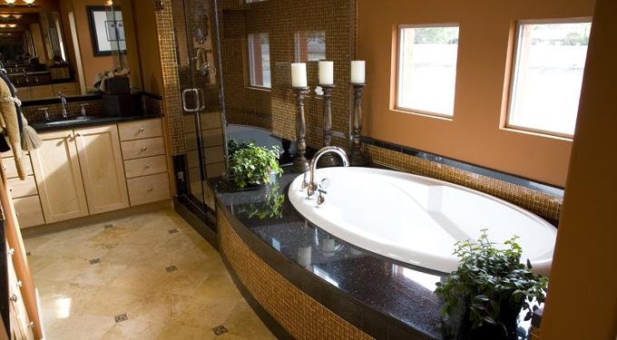 Csodálatos spa hatású fürdőszobák