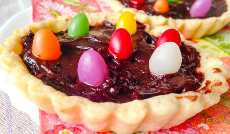 Csokis húsvéti kosárka