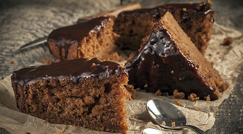 Csokis sütemény baracklekvárral, percek alatt