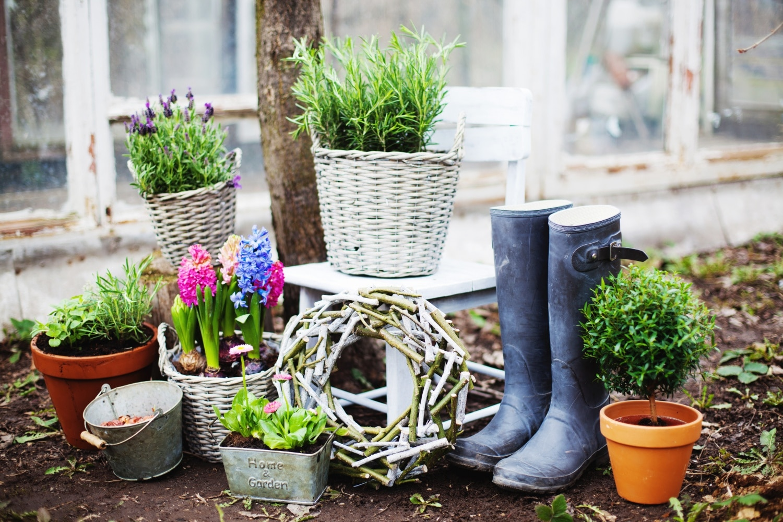DIY virágcserép díszek, amiket pár perc alatt elkészíthetsz