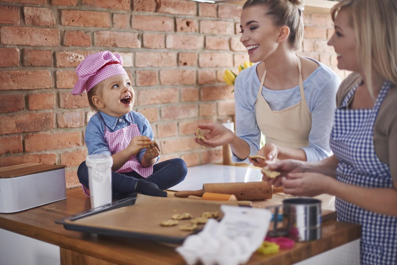 Együtt főzés = okosabb gyerek?