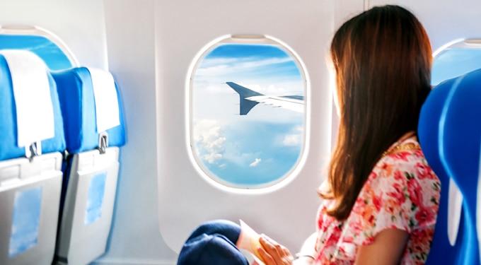 Egy negyvenes nő gondolatai a repülésről