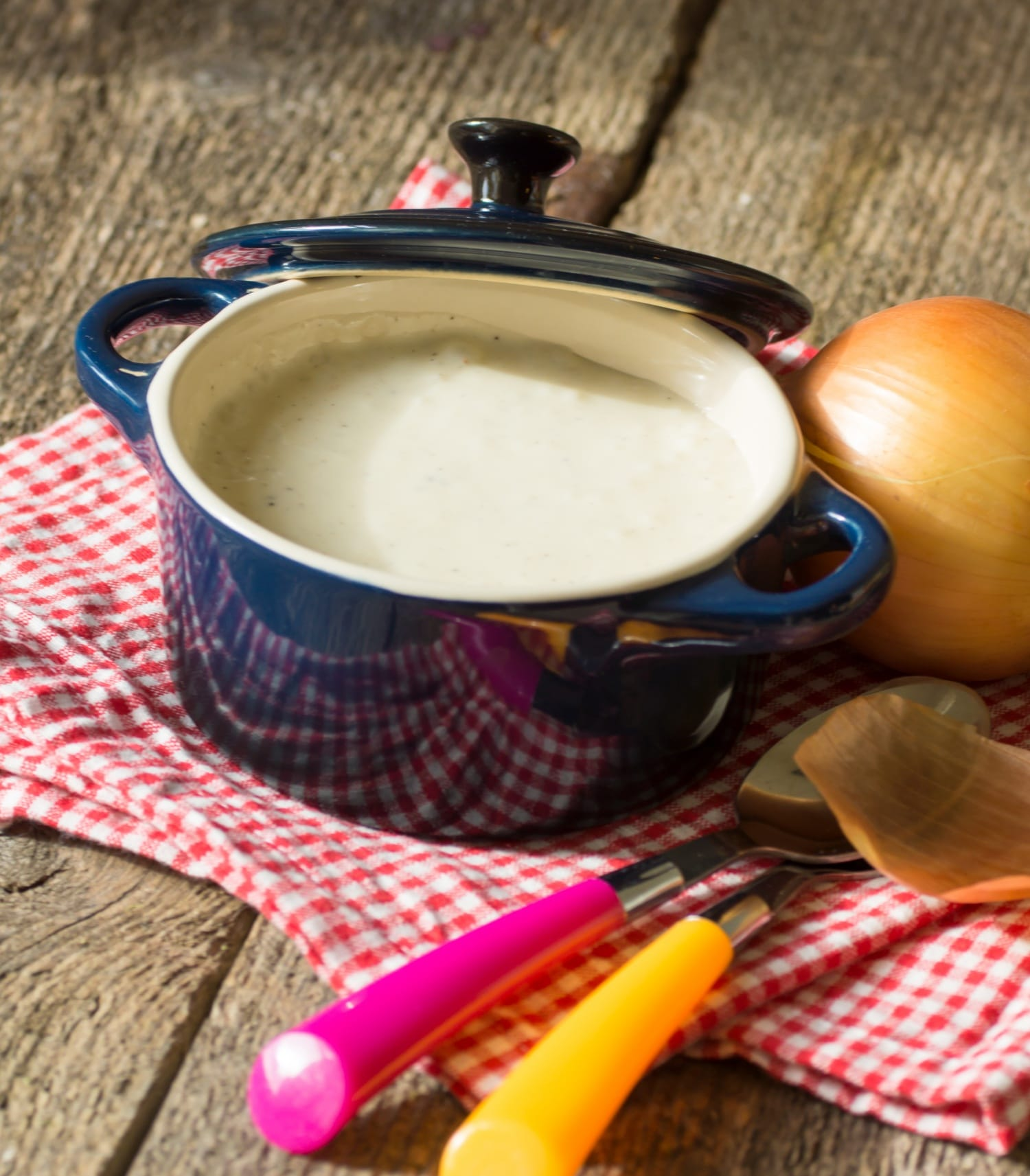 Egyszerű sajtkrémleves