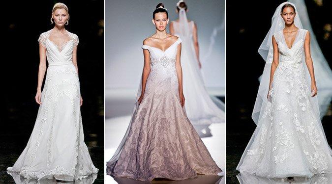 Elbűvölő esküvői ruhák 2012