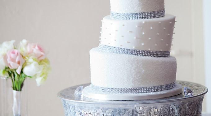 Elbűvölő esküvői torták a nagy napra