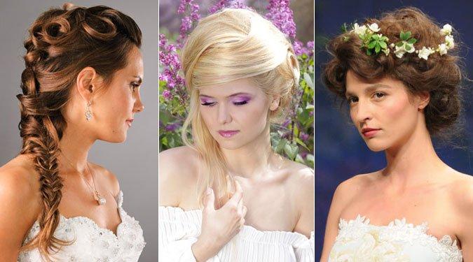 Elragadó menyasszonyi frizurák 2012-re