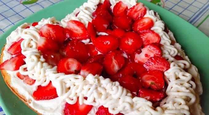 Epres mascarpone torta anyák napjára