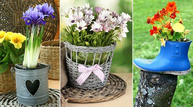 Ezekből is lehetnek virágcserepek!