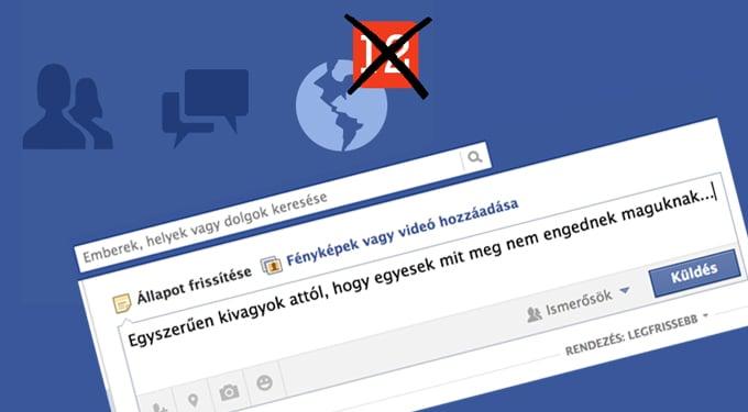 Facebook: a 7 legszörnyűbb felhasználótípus