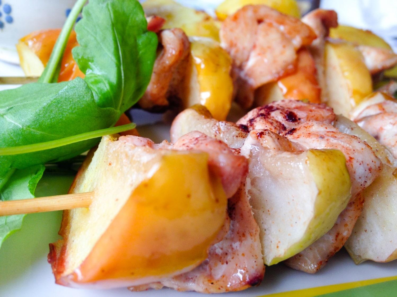 Fahéjas-almás csirkenyárs, mennyei tejszínes citrommártással