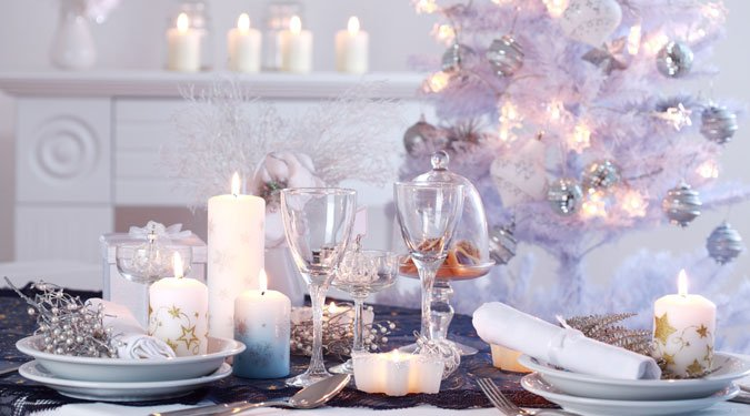 Fehér karácsony a lakásban
